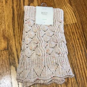 NWT Leg warmers/boot toppers
